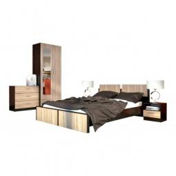 Купить Гарнитур для спальни 'Столлайн' Флёр 2 дуб феррара/дуб сонома