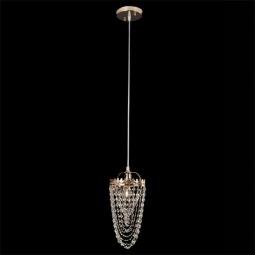 фото Подвесной светильник Eurosvet 3640/1 золото/прозрачный хрусталь  Strotskis Eurosvet