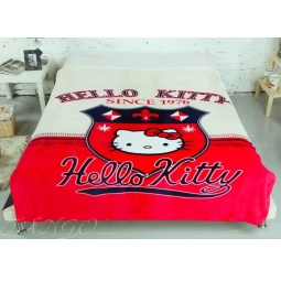 фото Плед микрофибра Hello Kitty 150х200 см pld286 Tango