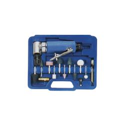 Купить Пневмозачистная машинка угловая 6мм LUXI LX-019, 20000 об/мин