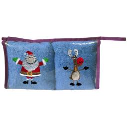 Купить Набор Полотенец Санта-Клаус и Ральф 34*70 См -2 Шт 15821 Примавель