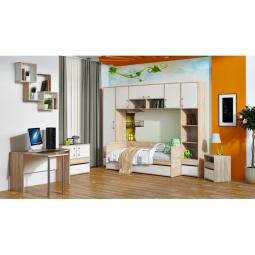 Купить Гарнитур для детской 'Мебель Трия' Атлас ГН-186.002 дуб сонома/хаотичные линии