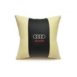 Купить Автомобильная подушка из эко-кожи AUDI