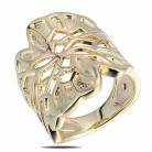 Купить ELLE кольцо с рубином 21031