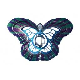 Купить Ветряной спиннер Бабочка с кристаллом 25см