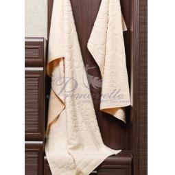 Купить Махровое полотенце Vitra бежевое 50х90 см 29413 Примавель