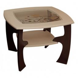Купить 'Олимп-мебель' Стол журнальный Маджеста-1 1188527 венге/клен азия