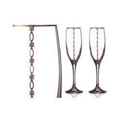Купить Набор бокалов для шампанского 'АРТИ-М' 802-510-02