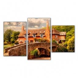 Купить Панно 'Brilliant' Набор панно (94х55 см) Каменный мост XA-023