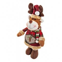 """Купить Мягкая игрушка 'Mister Christmas' (28 см) """"Олень"""" CHL-500DR"""