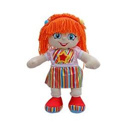 Купить Кукла РЫЖИК оранжевая