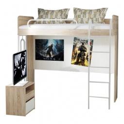 Купить Набор для детской 'Мебель Трия' Атлас ГН-186.009 дуб сонома/хаотичные линии