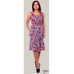 Купить Платье из трикотажного полотна 100 % хб  арт. 6-38
