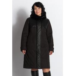 """Купить Пальто """"Марсия"""" - черный"""