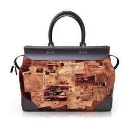 Купить Дизайнерская дорожная сумка-саквояж с принтом Sacvoyage 122