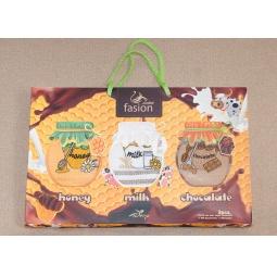 фото Набор полотенец для кухни вафельные с вышивкой Молоко PLT090-8 Tango