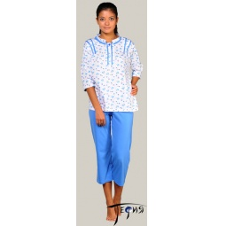 Купить Женская трикотажная пижама 100% хб арт.  3-19
