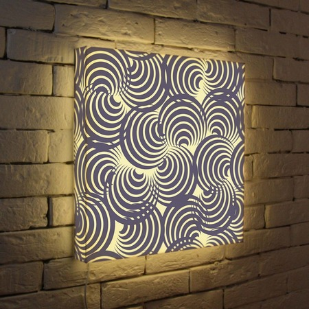 "Купить Лайтбокс ""Абстракция 1"" 45x45-030 FotonioBox"