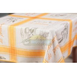 фото Скатерть Прованс оранжевый 150*220 см прямоугольная 1508970 Подушкино