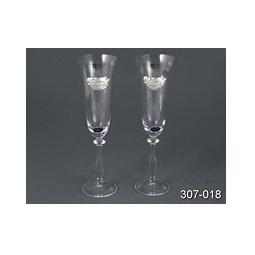 Купить Набор бокалов для шампанского 'Cristalleria acampora' 307-018