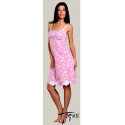 Купить Женская ночная трикотажная сорочка 100% хб арт. 1-61