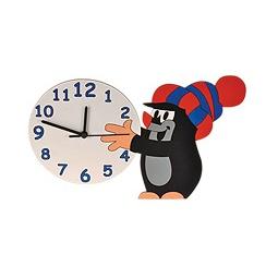 Купить Часы настенные КРОТ В ШАПКЕ