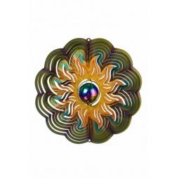 Купить Ветряной спиннер Солнце с перламутровым шаром 25см