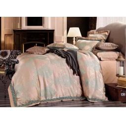 фото Постельное белье Жаккард с вышивкой Евро tj300-55 Tango