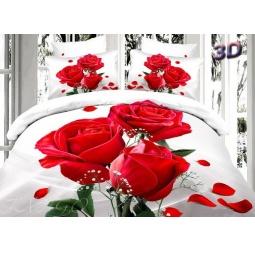 фото Постельное белье Сатин Евро 3D ts03-678-3 Tango