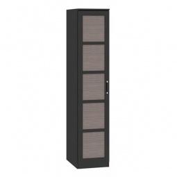 фото Шкаф для белья 'Мебель Трия' Токио СМ-131.10.001 венге цаво/венге цаво/каналы дуба