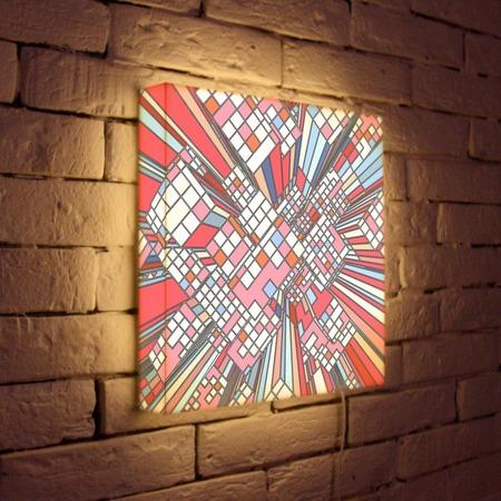 "Купить Лайтбокс ""Абстракция 17"" 45x45-114 FotonioBox"