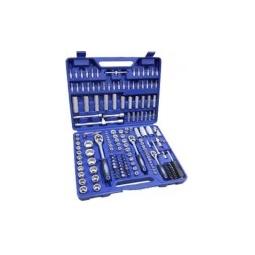 Купить Набор инструментов KINGTUL KT172, 172пр. 1/2,1/4,3/8 (6гр.) (4-32мм)