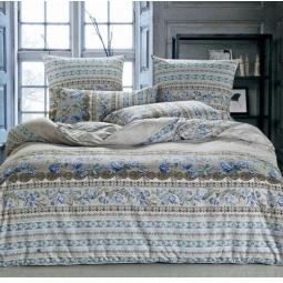 фото Постельное белье Поплин 1,5 спальный А166-1 СайлиД