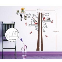 Купить Наклейка на стену с полками, FN1401