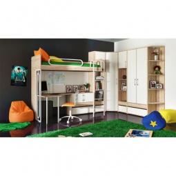 Купить Гарнитур для детской 'Мебель Трия' Атлас ГН-186.004 дуб сонома/хаотичные линии