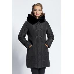 """Купить Пальто """"Марин"""" - черный"""