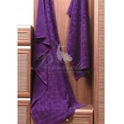 Купить Махровое фиолетовое полотенце Piera 50х90 см 30410 Примавель
