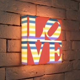"""Купить Лайтбокс """"LOVE 2"""" 25x25-125 FotonioBox"""