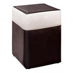 Купить Пуф 'Мебель Трия' Т2 черный/белый