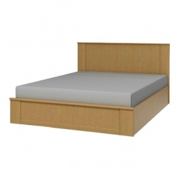 фото Кровать двуспальная 'Столлайн' Юлианна СТЛ.004.10 венге светлый
