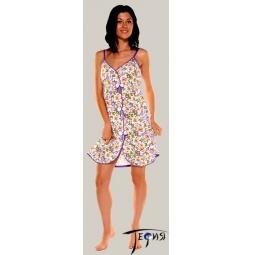 Купить Женская ночная трикотажная сорочка 100% хб арт. 1-68
