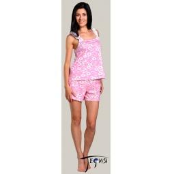 Купить Женская лёгкая пижама из трикотажа 100% хб  арт.  2-41