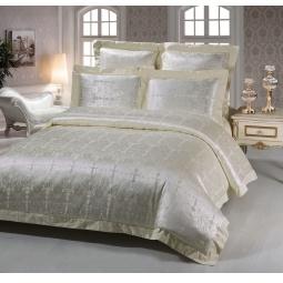 фото Постельное белье Жаккард 1,5 спальное SB114-1 Kingsilk