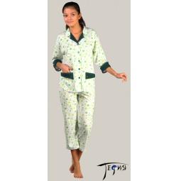 Купить Женская пижама из трикотажа 100% хб  арт.  3-08