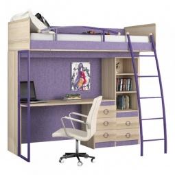 Купить Набор для детской 'Мебель Трия' Индиго ГН-145.009 ясень коимбра/навигатор
