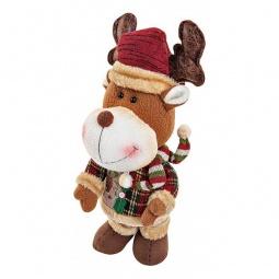 """Купить Мягкая игрушка 'Mister Christmas' (20 см) """"Олень музыкальный"""" CHL-317DR"""