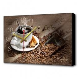 Купить Настенные часы 'Brilliant' (60х37 см) Черный кофе BL-2211