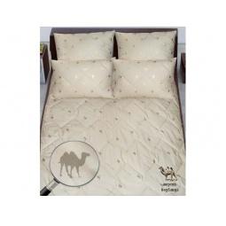 фото Всесезонное шерстяное одеяло Верблюжка 200*220 см 45420 Лежебока