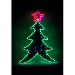Купить Ель световая 'Feron' (1.11 м) Ёлка на подставке 26950