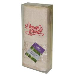 Купить Полотенце бамбук 34*70 см С Новым Годом 15815 Примавель